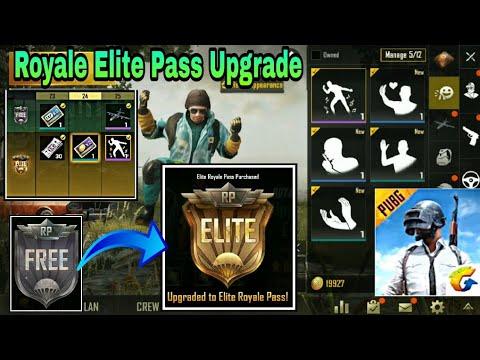 Pubg Mobile - Royale Elite Pass Upgrade