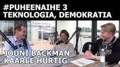 Teknologia demokratian apuna (Jouni Backman & Kaarle Hurtig)   #puheenaihe 3