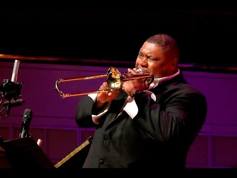 Wycliffe Gordon Plays SWING THAT MUSIC At CancerBlows 2015