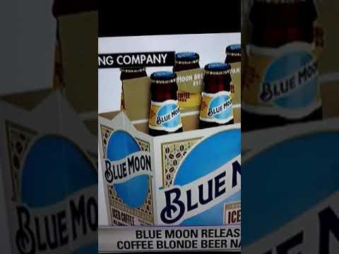 Craig Stevens - Blue Moon Released A Blonde Beer That Tastes Like Iced Coffee
