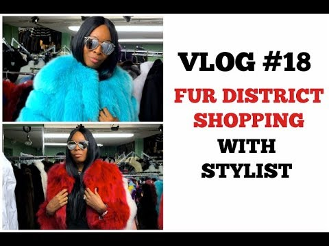 VLOG #18 | Fabulous Day Spent In NYC Garment District With Fashion Stylist..