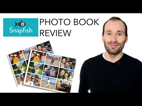 Snapfish Lay Flat & Standard Photo Book - Review