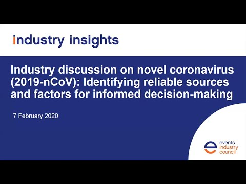 Industry discussion on novel coronavirus (2019-nCoV)