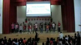 Never Say Never Dance: Endeavour Primary 5B Rainbow Day 1 2011