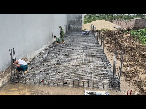 Amazing Techniques Construction For The Most Solid Concrete Foundations You Must See