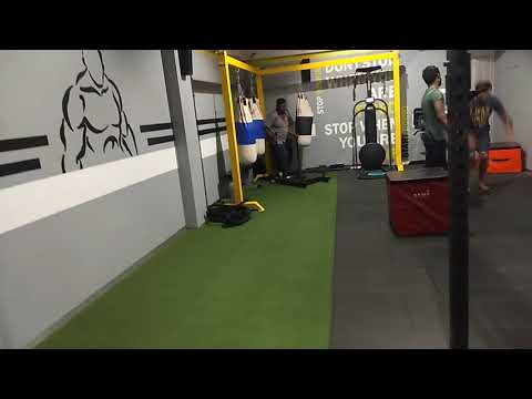 Sled workout - Coach Madras