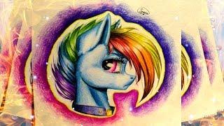 MLP Speedpaint: Rainbow Dash the Warrior