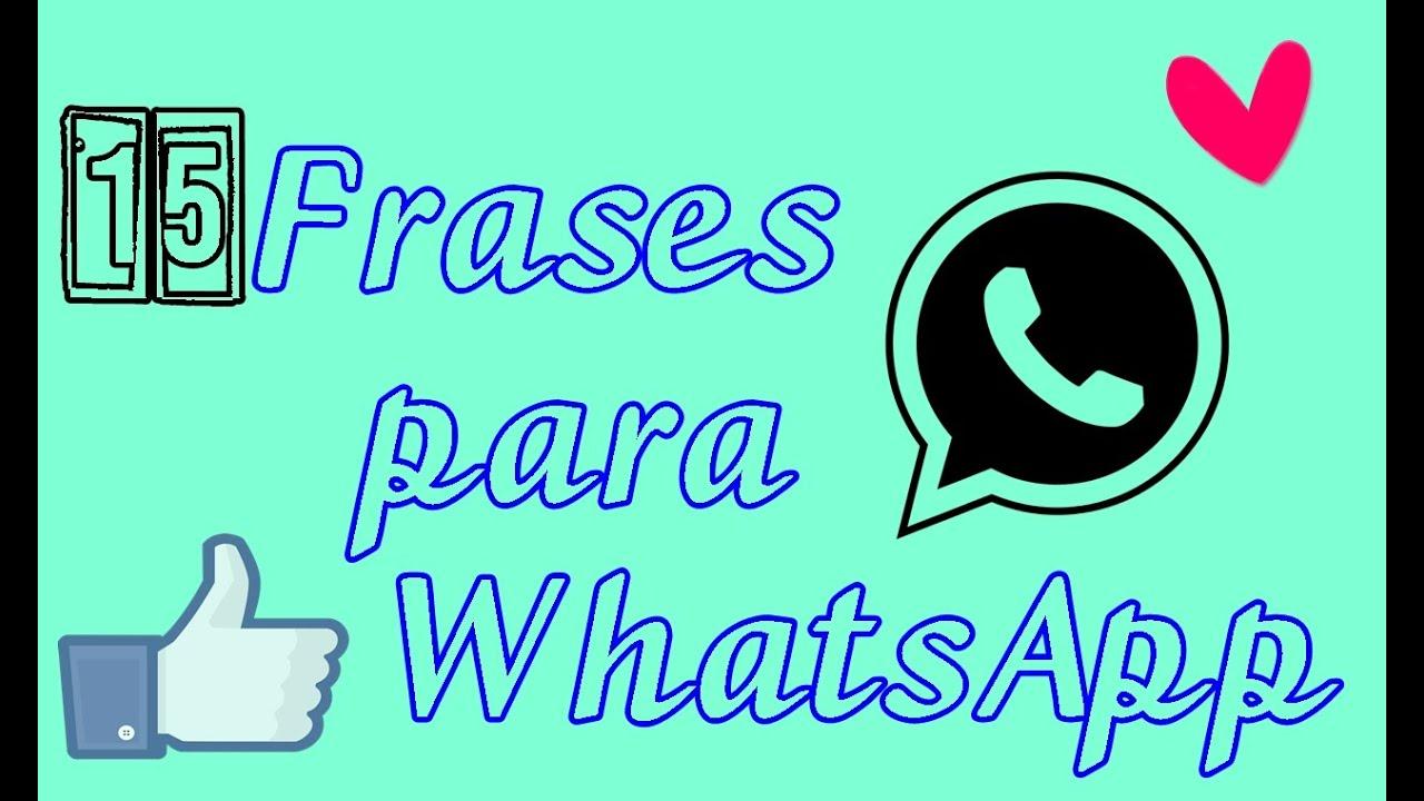 Frases Para Whatsapp: Frases Para O Status Do WhatsApp