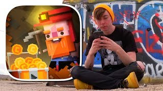 STRANGER YELLS AT ME? - Diggerman (iPhone Gameplay Video)