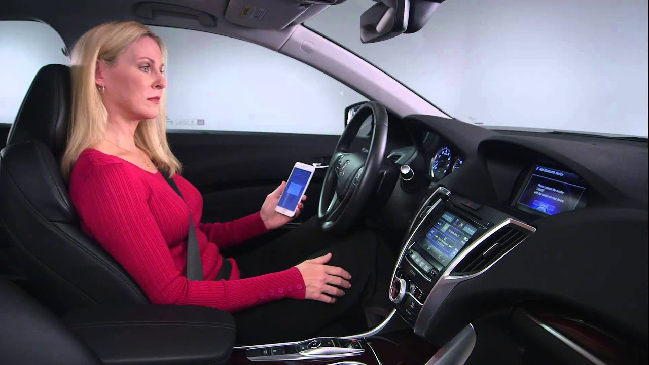 acura tips on pairing your phone youtube