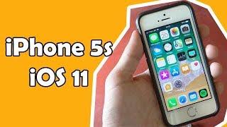 iPhone 5s iOS 11 - Análise [PT-BR]