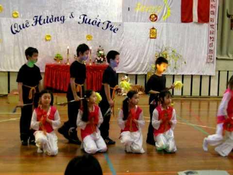 Múa Lý Ngựa Ô_Xuân 2010_Hội Văn Hóa Việt Nam