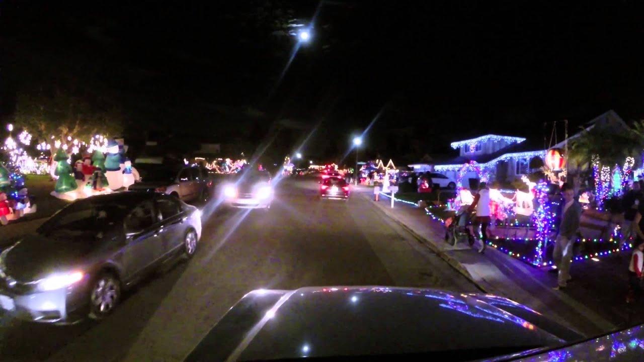 Brea Christmas Lights