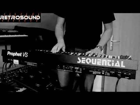 Sequential Prophet VS Vector Synthesizer (1986) four sounds in one track