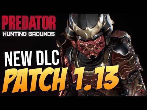 NEW SAMURAI PREDATOR CLASS & KATANA WEAPON! PREDATOR BUFFS?! Predator Hunting Grounds 1.13 Patch