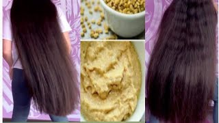 fenugreek hair mask for hair growth and hair regrowth skin and hair treatment permanently