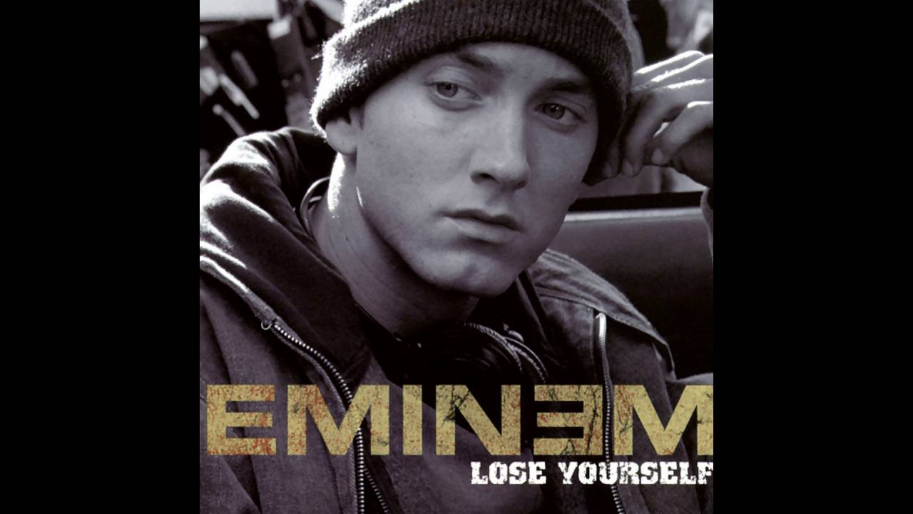 eminem lose yourself A megahit from the 8 mile soundtrack, lose yourself was hip-hop as inspirational as rocky , with em rapping about the kind of poverty he grew up in — and.