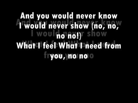 Imany You Will Never Know (Lyrics Official)