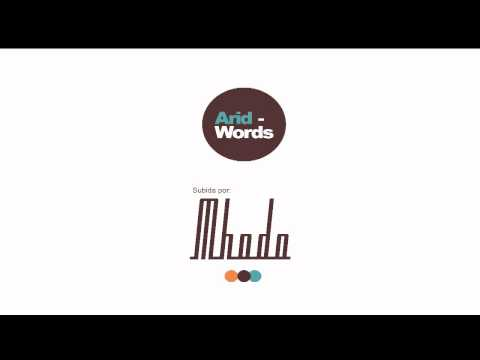 Arid words YT 2
