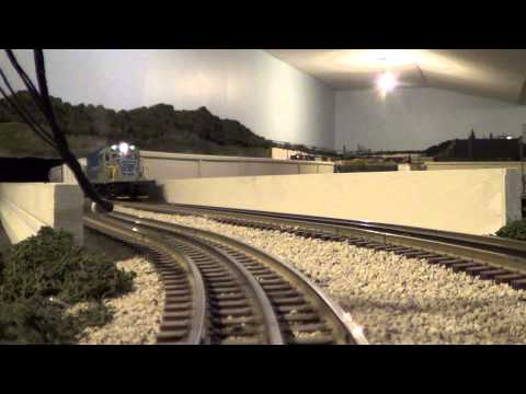 Lionel Lehigh and Hudson River RR C-420 #22 MTH PS2 Upgrade Engine test #1