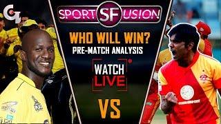 Islamabad United vs Peshawar Zalmi LIVE pre Match Analysis | Sports Fusion Live | GTV News