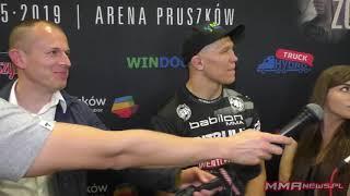 Daniel Skibiński znokautował cięższego o 7 kg Rodriguesa