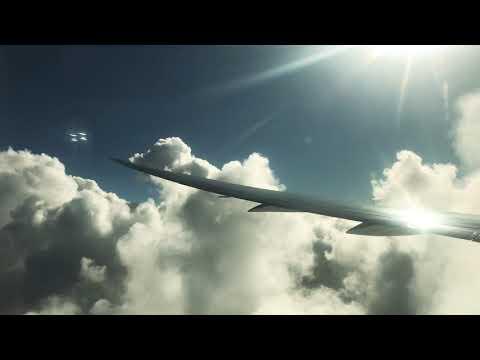 Boeing 787 Dreamliner Royal Air Marco landing in Casablanca
