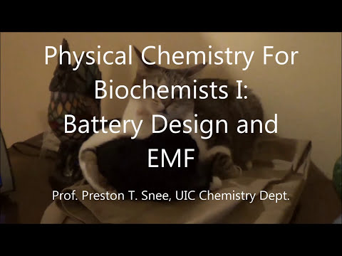 Lecture30- Battery Design and the Electromotive Force