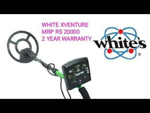 WHITES XVENTURE METAL DETECTOR GOLD DETECTOR IN INDIA
