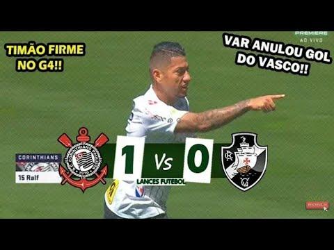 Corinthians 1x0 Vasco - Melhores Momentos | 22° Rodada do Brasileirão 2019 | 29/09