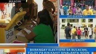 NTG: Barangay elections sa Bulacan, tuloy pa rin kahit sinalanta noon ng Bagyong Santi