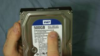 Western Digital 500GB Sata Hard Drive Review