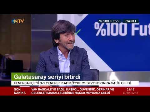 Rıdvan Dilmen: Galatasaray hak ettiği bir galibiyet aldı (%100 Futbol Fenerbahçe-Galatasaray)