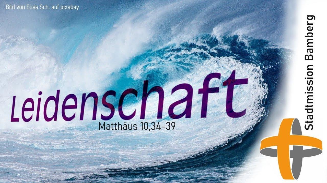 Matthäus 10 34-39