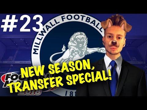 Football Manager 2018   #23   New Season, Transfer Special