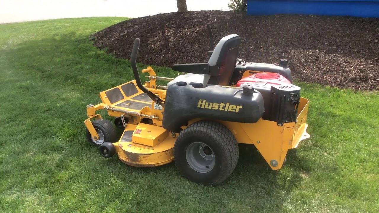 Mower hustler mower #4