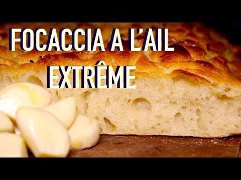 focaccia-maison-à-l'ail---pain-focaccia-italien-à-gousses-&-huile-d'ail---recette-#246