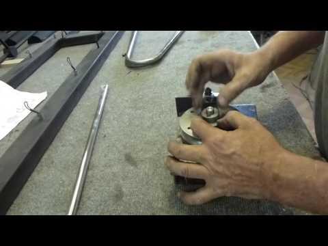 гибка нержавеющей трубы (  ручной  гибочник)  Ф16- 18мм