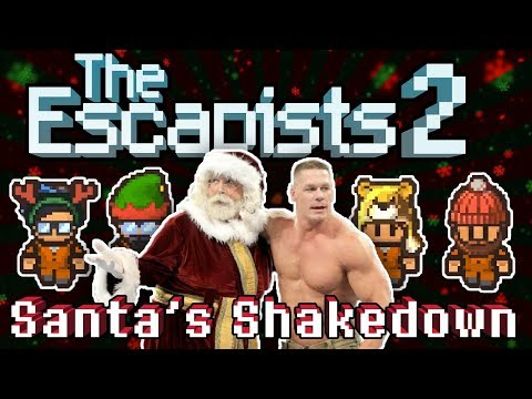The Escapists 2: 4-Player - Santa's Shakedown - #2 - Highly Suspect