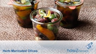 Herb Marinated Olives