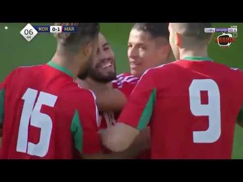 Corée du Sud – Maroc 1-3 Match amical Bienne (Suisse)