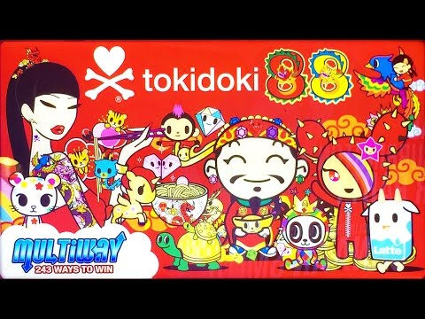+NEW Tokidoki 88 slot machine, DBG
