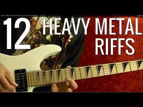 Lessons - Metal - Heavy Metal Riffs 11