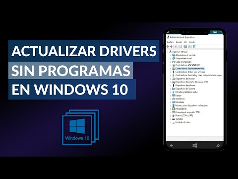 Cómo ACTUALIZAR DRIVERS o Controladores sin Programas en Windows 10