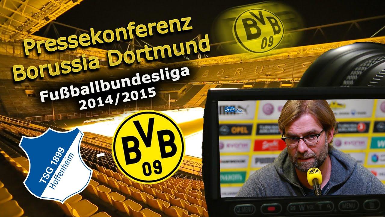 TSG 1899 Hoffenheim - Borussia Dortmund : Bundesliga-Pk Jürgen Klopp