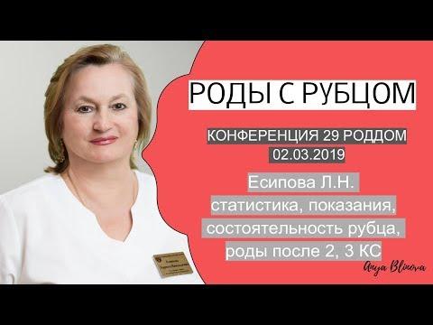 РОДЫ С РУБЦОМ   доклад опыт 29 роддом Ч1