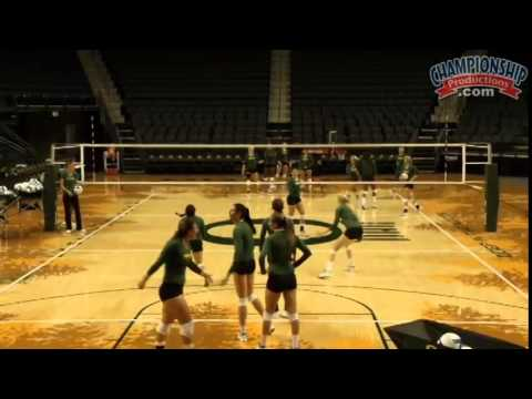 Use One Of Jim Moore's Favorite Practice Drills! - Volleyball 2015 #15