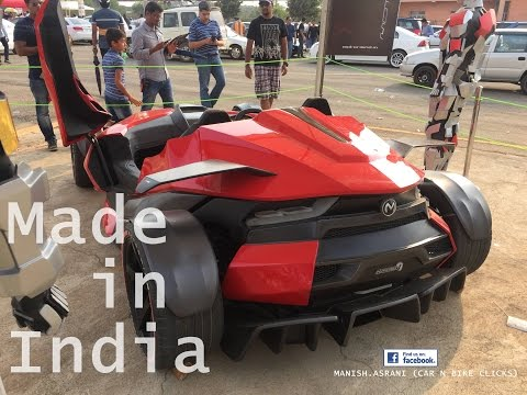 Car Made in India | Hyperion One | Motormind Designs | Bangalore