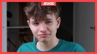 Jesse (16) heeft een strike