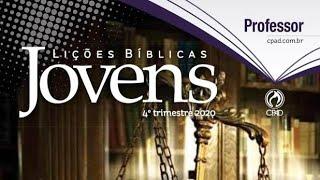 LIÇÃO 1 [JOVENS] – Moisés: A diferença que a Presença de Deus faz - 4º Trimestre 2020